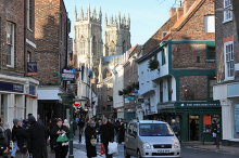 York, The twin towers of York Minster, North Yorkshire © Peter Church